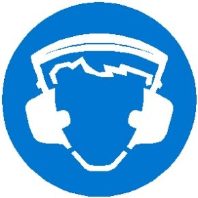 Mandatory & Prohibition Decals - Ear Protection